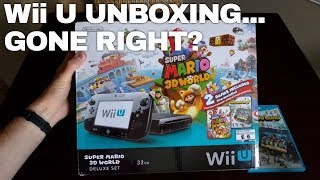 Wii U UNBOXING FROM EBAY... Did I Actually Get the Right Console This Time??