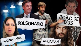Fábio Rabin em Brasília - Bolsonaro / João de D'us / Mayra Cardi / Aquaman