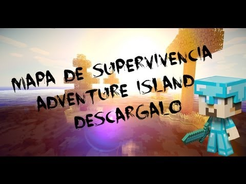 Mapa de supervivencia para Minecraft 1.8.3 Adventure island