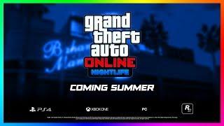 GTA Online Nightlife Update NEW Details - Nightclub Management, Business Payouts & MORE! (GTA 5 DLC)