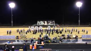 "2014 HHS Marching Huskies ""TDF"" at the 1st round of Footbal"