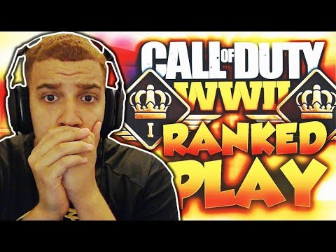 SMACKING SWEATIES in WW2 Ranked Play! (3v4) - Call of Duty WW2 Ranked Play Gameplay!