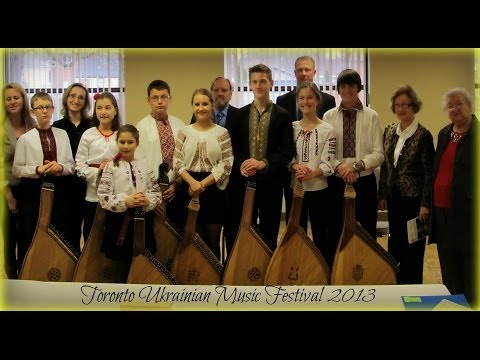 Toronto Ukrainian Music Festival 2013 Bandura Highlights video