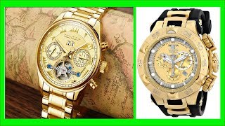 TOP 50 Gold Watches for Men - Best Mens Fashion gold watch Images