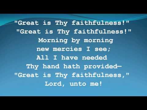 Great is Thy Faithfulness -Women of Faith