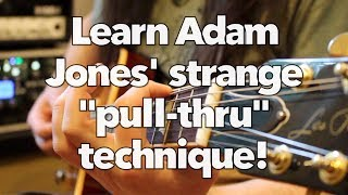 The weird technique Adam Jones uses to play Jambi (Tool)! Weekend Wankshop 193
