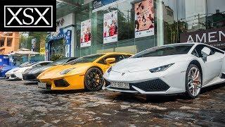 Cường Đô La cùng dàn Lamborghini và Ferrari khởi động Car Passion 2017 | XSX