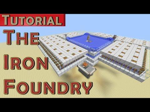 The Iron Foundry Iron Golem Farm 1700 Iron Hr Works