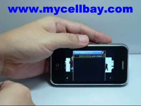 mycellbay.com- PN-F003 GSM Quad Band Dual SIM Standby Cell Phone WiFi Java TV Bluetooth A2DP