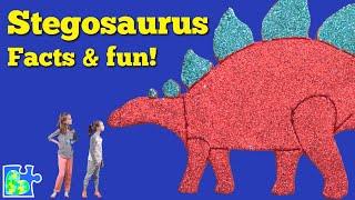 STEGOSAURUS FACTS || Dinosaur Facts || Science for Kids || Paleontologist Kids
