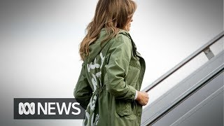 download musica Melania Trumps dont care jacket in spotlight after visiting migrant children