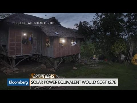 Solar Company Plans to Light Up the World