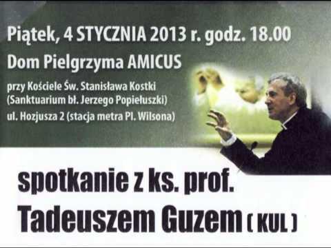 Spotkanie z ks. prof. T. Guzem - Neokomunizm