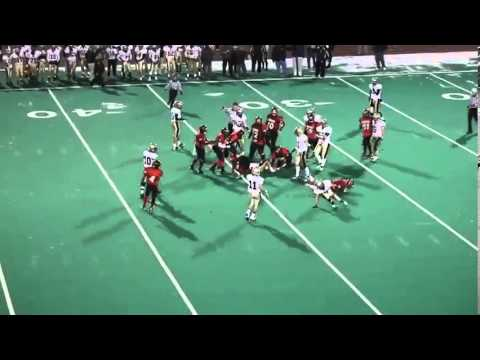 Paul Angelucci Trumbull High School Football Highlights 2012-2013