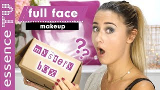 OMG! full face using only mystery box make up (deutsch)