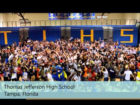 HIGH SCHOOL HARLEM SHAKE (Thomas Jefferson High School- Tampa, Florida)