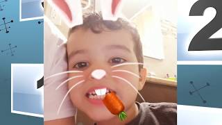 Cute Rabbit Funny Baby