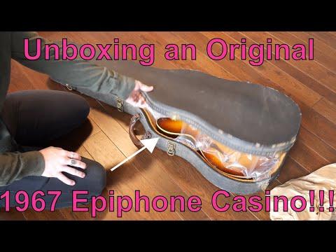 1967 Epiphone Casino Unboxing...FAIL!