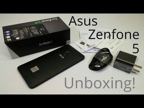 Asus Zenfone 5 Intel Atom Z2580 @ 2.0GHz 2GB/16GB Android 4.3 $197.00 - Unboxing!