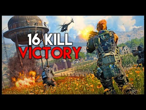 16 Kill WIN & Secret Nuketown Tunnels! - COD Battle Royale! (Call of Duty Blackout Gameplay)