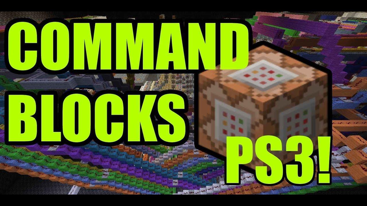 Minecraft PS3 Command Blocks Update Information YouTube