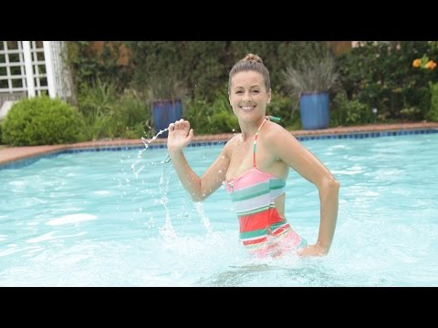 Sculpt & Tone Your Legs in the Pool Workout | Class FitSugar
