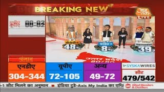 Exit Poll 2019: 48% Vote Share For BJP In West Bengal, 39% For SP-BSP, Predicts Aaj Tak Exit Poll
