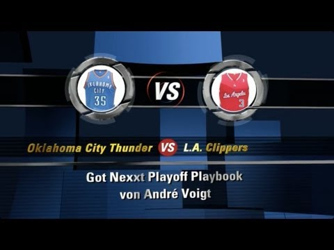 Playoff Playbook #6: Oklahoma City Thunder vs. L.A. Clippers