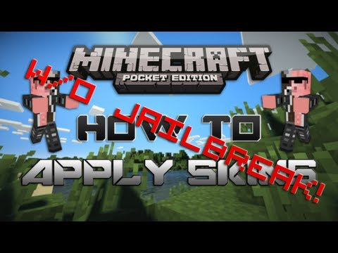 [No Jailbreak] How to Apply Skins in Minecraft Pocket Edition