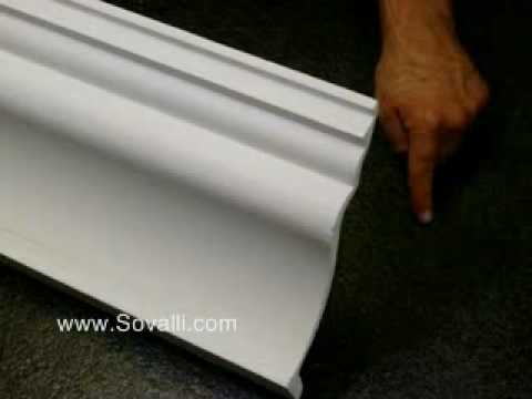 HPCV010 Sovalli Decorative Plaster Coving