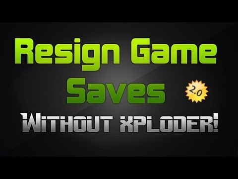 [PS3] How to Resign Game Saves without Xploder   Voice Tutorial [UPDATED]