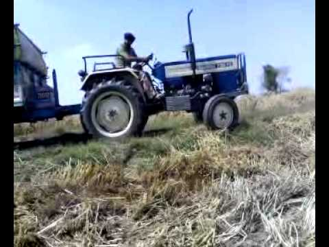 Tractor Stunt On Sawraj video