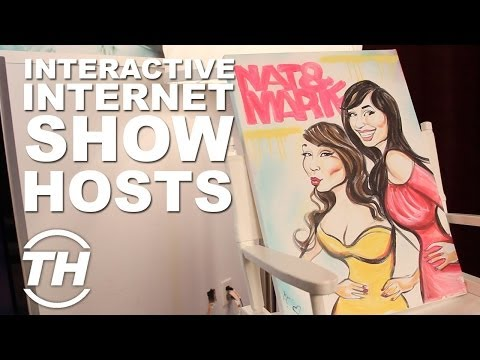 Nat and Marie: Interactive Internet Show Hosts