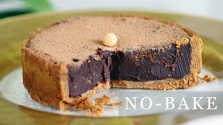 No-Bake Chocolate Pie Recipe - 5-Ingredient Tart 초코타르트 만들기