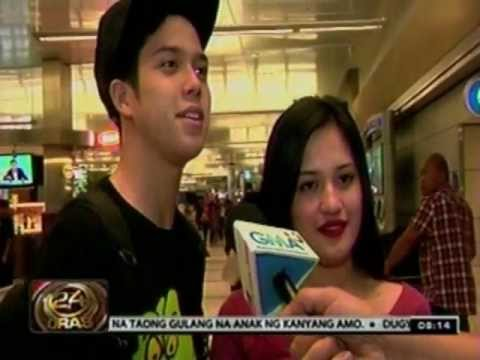 24 Oras: Julie Ann San Jose at Elmo Magalona, excited pumasyal sa California