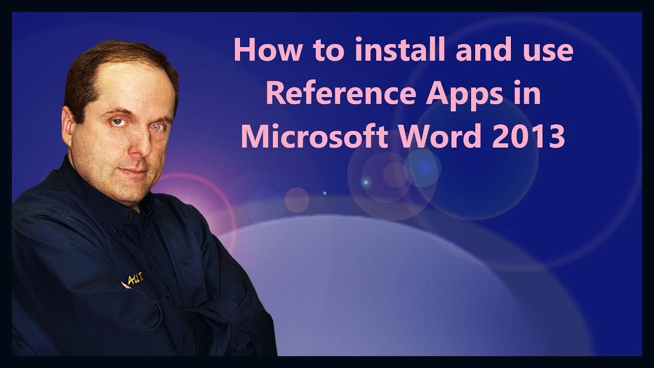 how to add references in word 2013