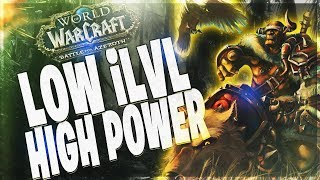 LOW ILVL - HIGH POWER - BM HUNTER DUNGEON GUIDES!! BATTLE FOR AZEROTH 8.0