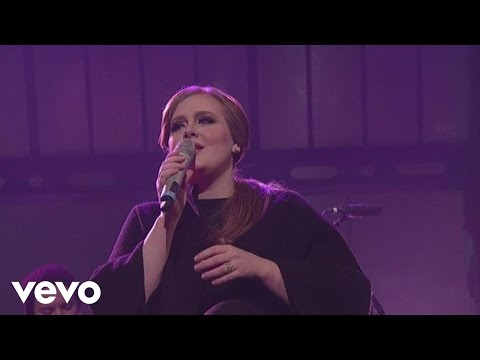 Adele - Chasing Pavements (Live on Letterman)