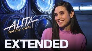 Jennifer Connelly Talks Singing Career, 'Top Gun 2' And 'Alita: Battle Angel'   EXTENDED