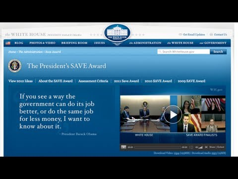 Announcing the 2012 SAVE Award