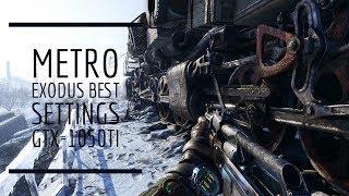 Metro Exodus | ACER NITRO 5 | Gameplay GTX-1050ti | Best Settings