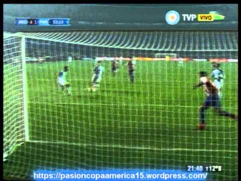 (Relator Enojado) Argentina 6 Paraguay 1 (Relato Juan Antonio Mereles)  Copa America 2015