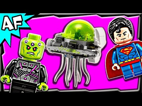 Superman BRAINIAC ATTACK 76040 Lego DC Comics Super Heroes Stop Motion Set Review