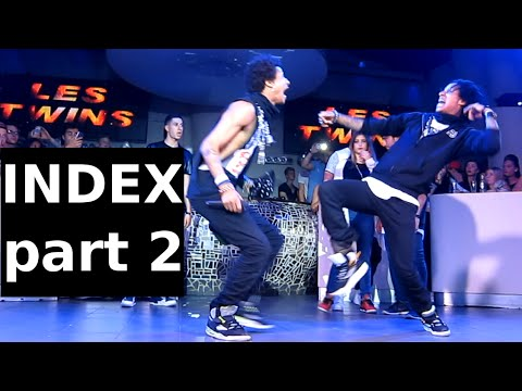 Les Twins  Index Germany Part 2 video