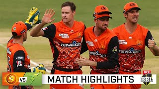 Scorchers down Thunder to make it four in a row | KFC BBL|10