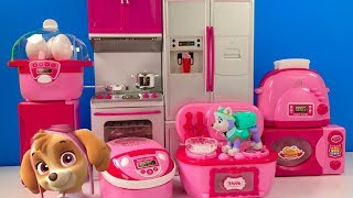 Learn Colors with Paw Patrol Kitchen Electronic Mini Appliances Microwave | Fizzy Fun Toys