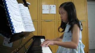 Ethel Poh - Sonata In C First Movement (8-yr-old) - learningchamp.com