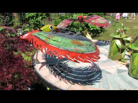 Kreative Gartendeko Aus Eisen