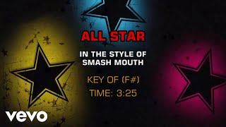Smash Mouth All Star Karaoke