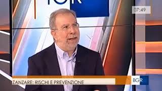 """BGR RAI Enzo Tramontano sui virus """"da zanzara"""" - UniCa"""